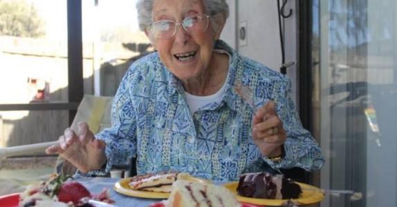 Den kreftsyke 90-åringen nektet cellegift-behandling. Istedet valgte hun å sjokkere alle!