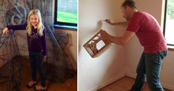 Han brukte 18 måneder på å pusse opp datterens rom. Men når han er ferdig? Vi sitter og MÅPER!