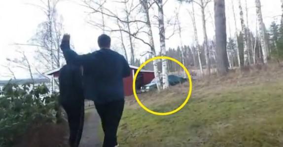 Svenskene kaster egg på kompisens bil. Men det som skjer? Jeg ler så tårene triller!