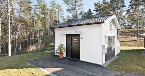 Huset til salgs er bare 22 kvadratmeter – men VENT til du ser det innvendig!