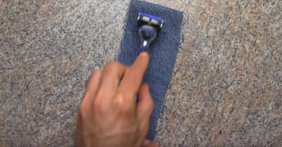 Har du et gammelt barberblad? Istedet for å kaste det, bør du se dette GENIALE trikset!