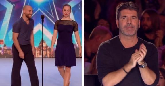 Når paret gjør DETTE på scenen så blir til og med Simon forbløffet. Selv sitter jeg bare og gaper!
