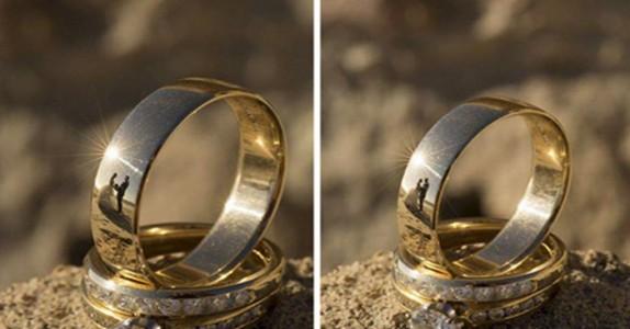Han fotograferer parets gifteringer, men det kameraet fanger? Magisk!