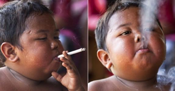 Husker du gutten som røykte 40 sigaretter om dagen? SLIK ser han ut 8 år senere!