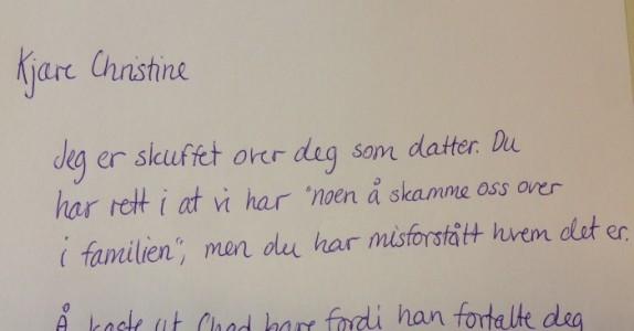 Moren kastet ut sønnen sin fordi han var homofil. Da skrev morfaren et brev som hylles verden over!