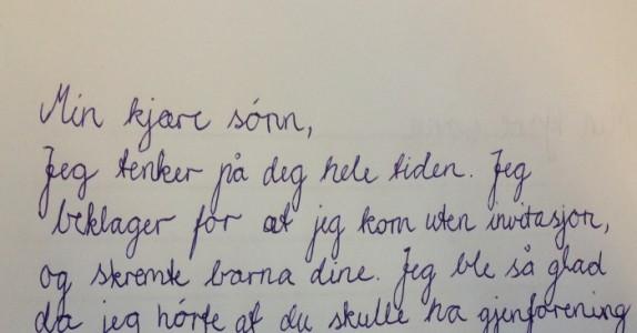 Han hatet moren sin under hele oppveksten. Da hun døde fikk han et brev med sannheten.