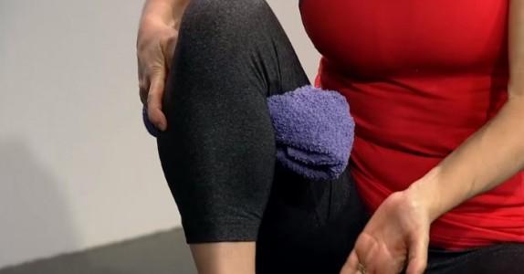Hvis du har dårlige knær med smerter, vil DETTE enkle trikset gi deg en øyeblikkelig lindring!