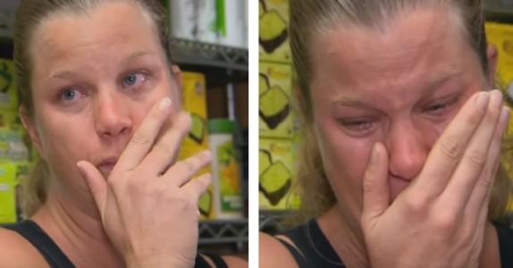 Den gravide moren med 2 jobber bryter ut i tårer når hun ENDELIG får lønnen hun fortjener!