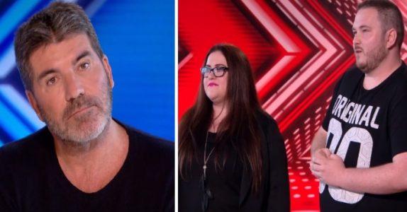 Juryen elsker parets audition. Men så sier Simon det UTROLIGE!