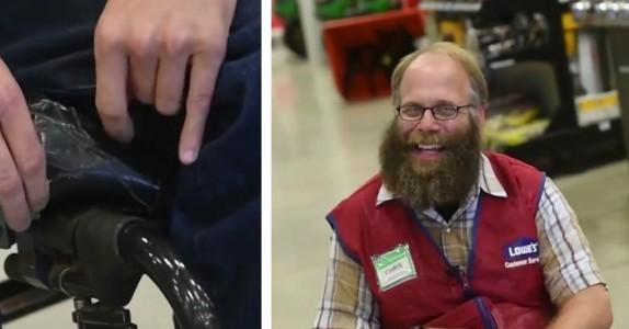 Chris hadde ikke råd til ny rullestol – da overrasker kollegene han!
