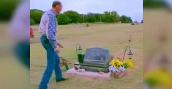 11-åringen tar sitt eget liv. 5 uker senere får pappaen en åpenbaring ved graven!