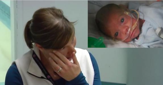 Sykepleieren reddet en prematur baby. 4 år senere får hun seg en overraskelse!