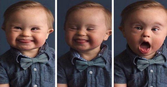 Klesforetaket nektet å ha med gutten med Downs syndrom. Morens svar hylles av tusenvis!