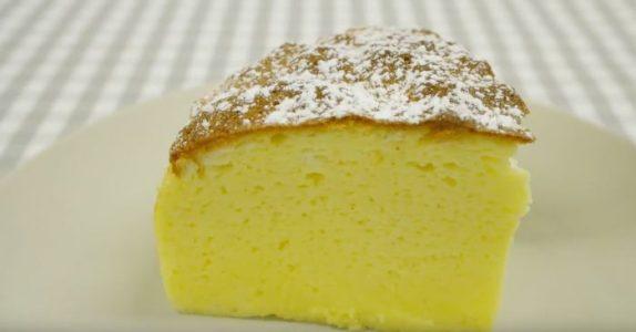 Denne japanske ostekaken har bare 3 ingredienser. Den er så enkel at ALLE kan lage den!