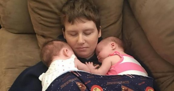 Ufattelige smerter gjør at kvinnen må sitte i rullestol. Men når hun blir gravid med tvillinger, opplever hun et MIRAKEL!