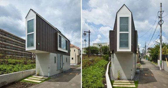 Dette smale huset er bare 55 kvadratmeter. Men VENT til du ser innsiden!