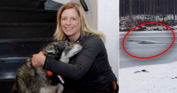 Hunden hennes holdt på å drukne. Da nølte ikke Linda et SEKUND!