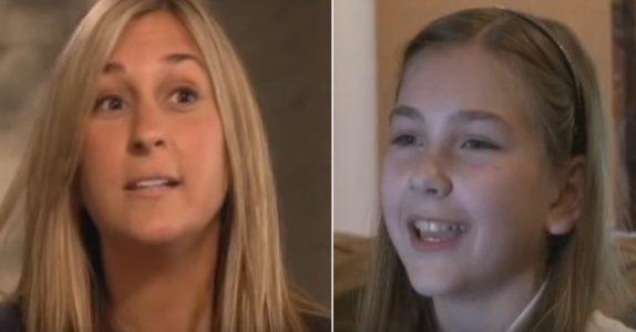 4-åringen sier hun kan prate med sin avdøde far etter begravelsen. Så forteller hun moren at faren ikke er alene!