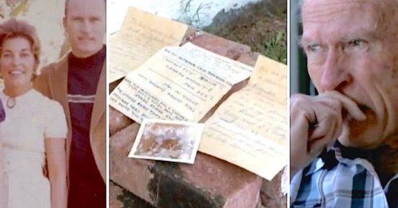 Kona hans døde i en bilulykke. 38 år senere finner en renovasjonsarbeider noe i veggisolasjonen deres!