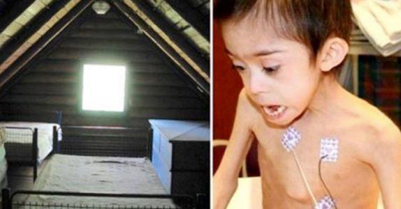 Mammaen gjemmer sønnen med Downs syndrom på loftet. Det politiet finner der SJOKKERER dem!