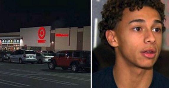 17-åringen ser en liten jente på butikken. Da innser han plutselig at det står en pedofil ved siden av henne!