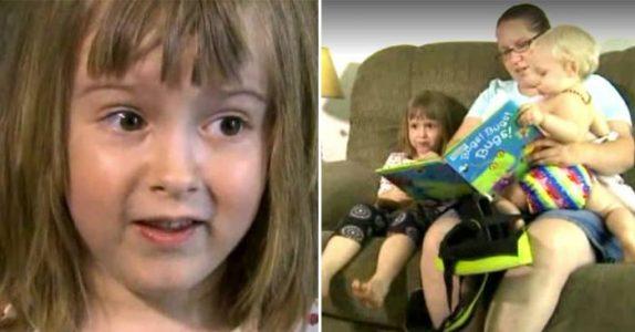 Barnevakten lyver om tyvenes identitet. Da avslører den 4 år gamle jenta SANNHETEN til politiet!