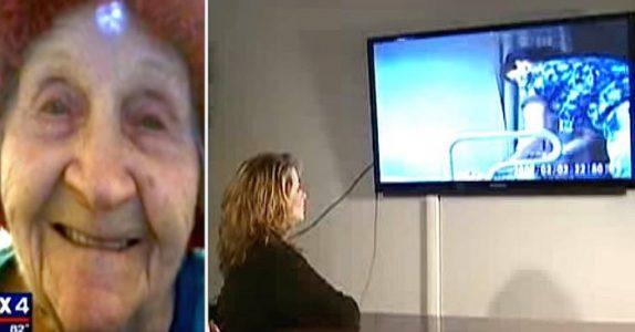 Bestemoren fortsetter å «falle ut av rullestolen» – da avslører et skjult kamera den STYGGE sannheten!