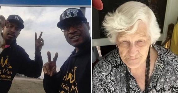 Guttene holdt et øye med den 93 år gamle kvinnen. Når hun forlot huset, slo de til!