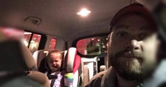 Alle stirrer på pappaen når han drar den skrikende 2-åringen ut av lokalet. Men han har noe VIKTIG å fortelle!