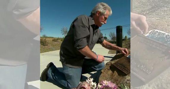 Faren setter opp et ulovlig minnesmerke for sønnen. 13 år senere gir milliardæren ham DENNE beskjeden!