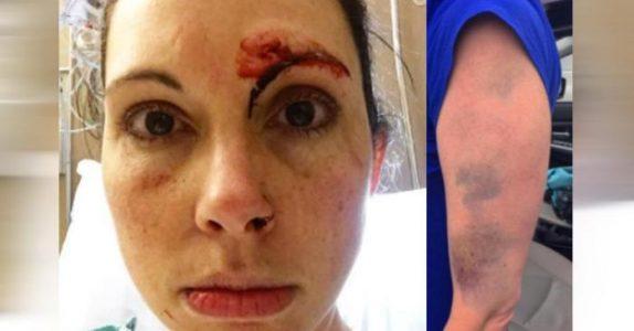 Voldtektsmannen angriper kvinnen. Men det hun gjør da, hadde han nok IKKE regnet med!