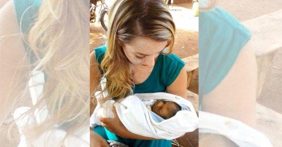 Emilie var ute og reiste da hun fant en forlatt baby. Som forandret livet hennes TOTALT!