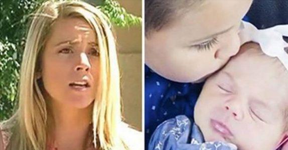 5-åringen står utenfor naboens hus med lillesøsteren i armene. «Mamma er død, kan du ta vare på oss?»