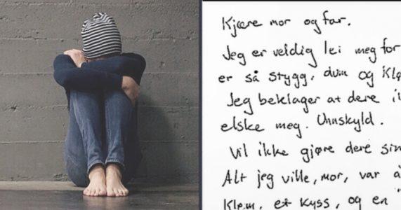 Foreldrene slår den lille gutten hver dag. Helt til han skriver et brev som etterlater alle i tårer!