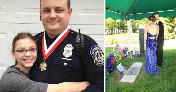 Jentas far døde i 2013. Men 4 år senere sjokkeres alle, når en MYSTISK fremmed står ved graven hans!