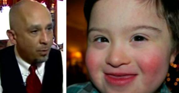 Middagsgjesten håner gutten med Down syndrom. Da svarer servitøren på den beste måten!