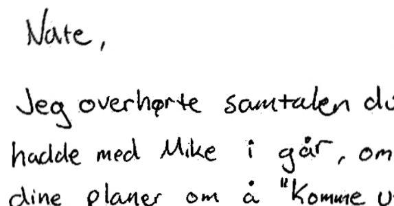 Pappaen smuglytter og hører at sønnen er homofil. Da skriver han et brev som alle foreldre bør lese!