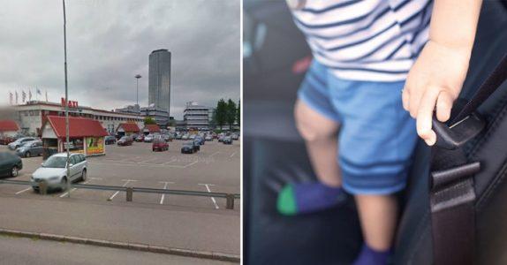 De små barna ble funnet innelåst i en glovarm bil. Da kom den fremmede mannen til unnsetning!