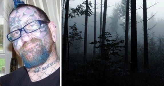 Mannen lurer to jenter ut i skogen. Når naboen følger etter, oppdages den GRUSOMME sannheten!