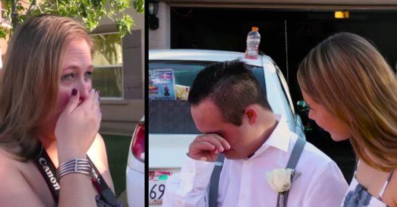 Gutten med Down syndrom mangler følge til ballet. Så røres moren til tårer av en fremmeds overraskelse!