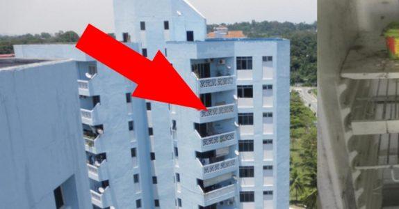 Ingen får komme inn i den gamle kvinnens leilighet. Men når naboene endelig får se, skjønner de hvorfor!