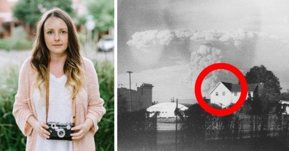 Hun kjøpte et gammelt kamera på loppemarked. Men når hun fremkaller bildene, oppdager hun det utrolige!