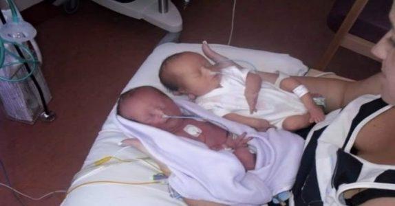 Paret venter identiske tvillinger. Men når legen sier «jeg beklager», fryser de til is!