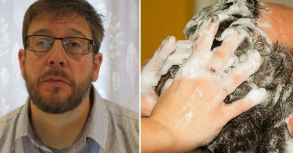 Tobarnsfaren skulle bare vaske håret hos frisøren. Men 3 dager senere kjemper han for livet på sykehuset!