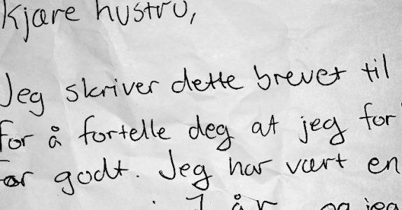 Mannen forlanger skilsmisse i et brev til kona. Men hennes geniale svar får han umiddelbart til å angre!