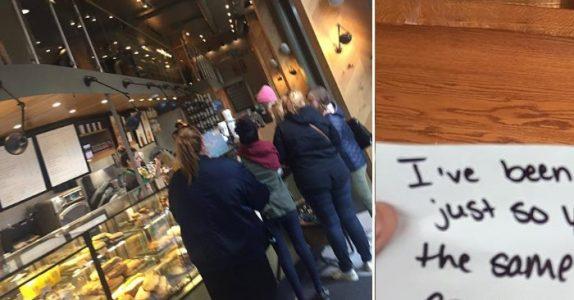 Den døve mannen skal bare kjøpe seg en kopp kaffe. Da gjør servitrisen noe som rører ham til tårer!