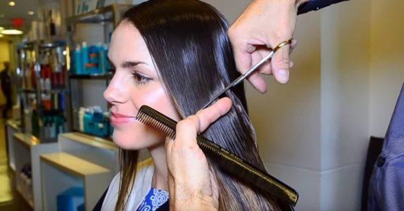 Den vakre jenta bestemmer seg for å klippe det lange håret. Den totale forvandlingen sjokkerer alle!