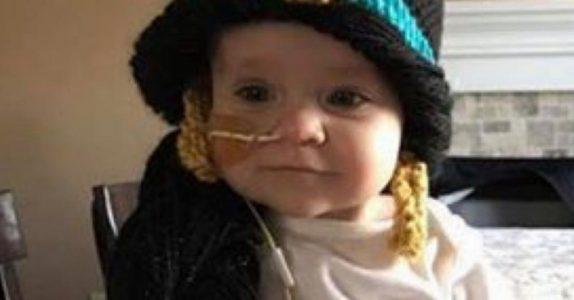 Den unge kvinnen ønsker å hjelpe barn med kreft. Da får hun plutselig en UNIK ide!
