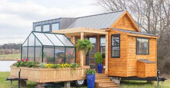 Denne merkelige hytta er bare 30 kvadratmeter. Men etter en titt på innsiden? Jeg flytter inn!