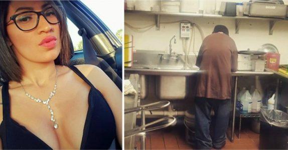 Den hjemløse mannen går inn på kafeen og ber om penger. 2 uker senere gjør han DETTE på kjøkkenet!